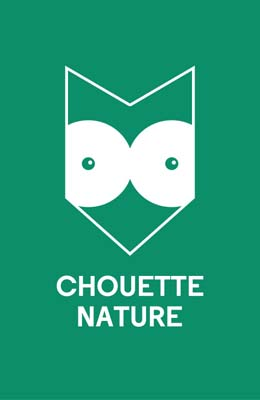 Logo label chouette nature tourisme vert