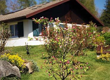 Chalet avec jardin emil'saveurs village club 4 Vents