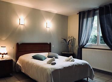 chambre double pour couple village vacances 4 vents en formule pension complète