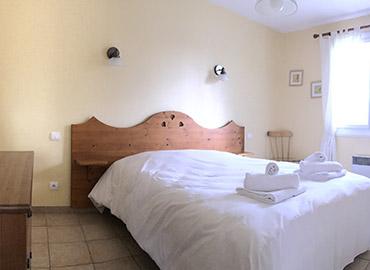 Chambre double gîtes Vosges