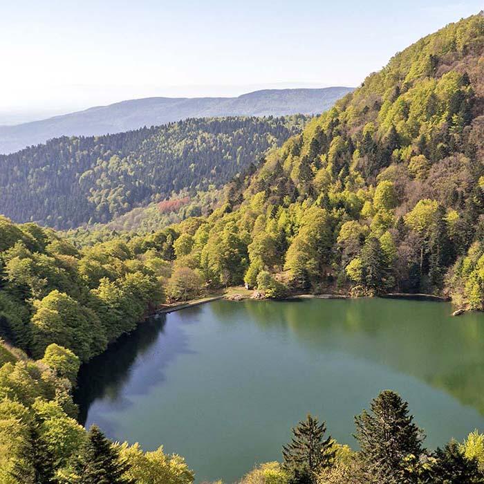 Découverte des lacs vosgien d'altitude en groupe - Village vacances 4 Vents ramonchamp