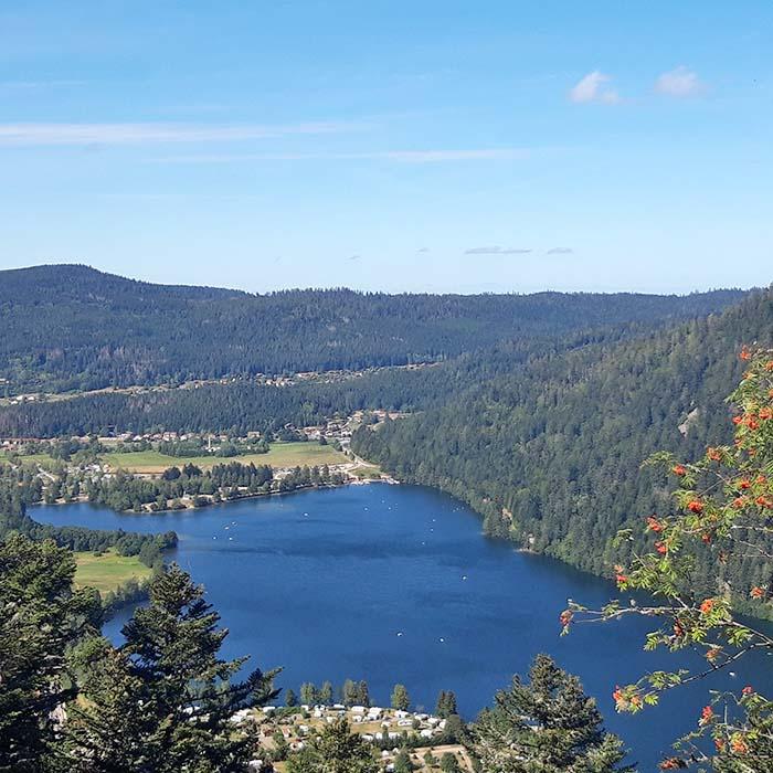 Découverte en groupe du lac Longemer - Hautes Vosges - Village vacances 4 Vents