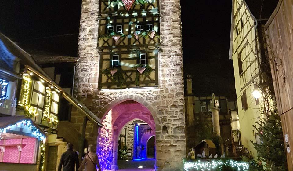 Découverte des marchés de Noël alsacien avec le village vacances Vosges les 4 Vents