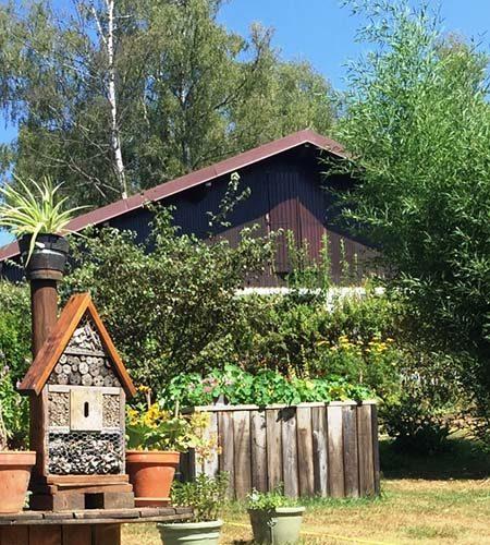 Jardin Emil'Saveur, engagement Chouette Nature